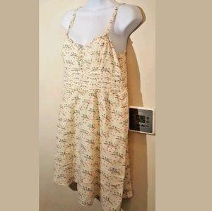 Anthropologie Keepsake lovebird dress